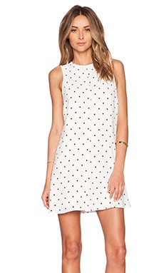 BEC&BRIDGE Space Cadet Shift Dress in White