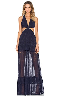 ROBE MAXI DUSK TO DAWN