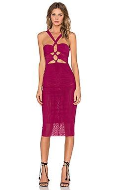 BEC&BRIDGE The Jewel Dress in Raspberry