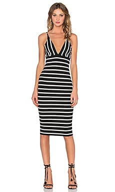 BEC&BRIDGE Beetle Juice Dress in Stripe
