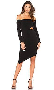 Salt Lake Cutout Dress in Black