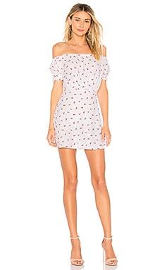 Купить Платье cherry pie - BEC&BRIDGE, С открытым плечом, Австралия, Белый