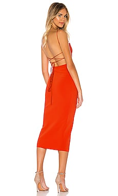 Lea Lace Up Midi Dress BEC&BRIDGE $230