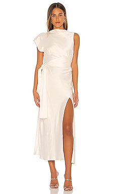 Piper Asymmetrical Midi Dress BEC&BRIDGE $360