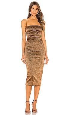 Bronze Baby Midi Dress BEC&BRIDGE $280