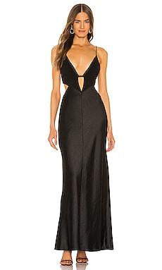 Seraphine Plunge Midi Dress BEC&BRIDGE $336