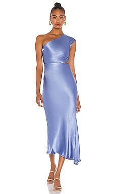 Delphine Asymmetrical Midi Dress BEC&BRIDGE $300