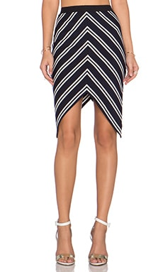 BEC&BRIDGE Ahoy Skirt in Ink Stripe