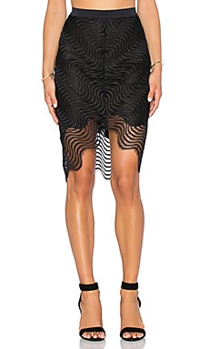 BEC&BRIDGE Mon Amour Skirt in Black