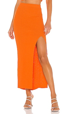 Lemon Squeezy Midi Skirt BEC&BRIDGE $250
