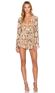 BEC&BRIDGE Mandala Romper in Boho Print