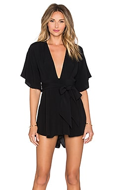 BEC&BRIDGE Bon Bon Playsuit in Black