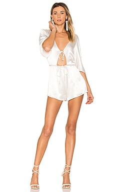 Fire Child Romper in Ivory