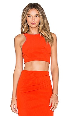BEC&BRIDGE Petite Crop Top in FIre