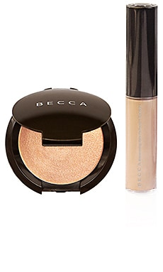 KIT DE ILUMINADOR GLOW ON THE GO BECCA $20