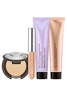 KIT DE MAQUILLAJE GLOW ESSENTIALS BECCA $39