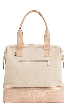 BOLSO TOTE MINI WEEKEND BEIS $88