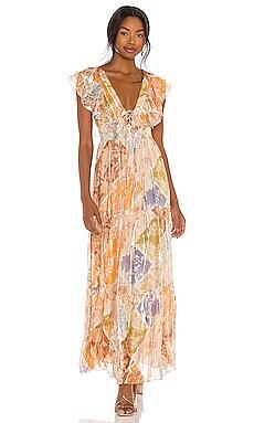 Zoie Maxi Dress HEMANT AND NANDITA $453