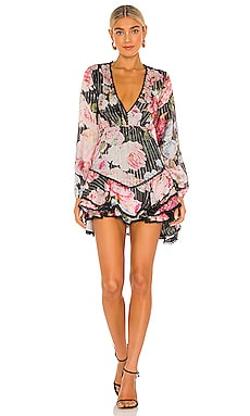 X REVOLVE Killim Mini Dress HEMANT AND NANDITA $405 NEW