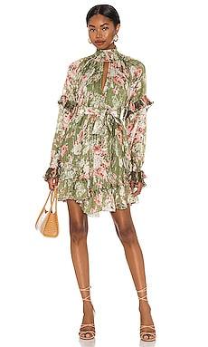 Neem Voluminous Mini Dress HEMANT AND NANDITA $419