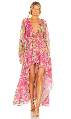 Miyu High Low Dress HEMANT AND NANDITA $484