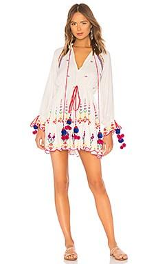 x REVOLVE Terrain Mini Dress HEMANT AND NANDITA $368