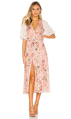 Blush Maxi Dress HEMANT AND NANDITA $662 BEST SELLER