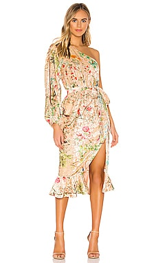 ROBE MI-LONGUE VEENA HEMANT AND NANDITA $358