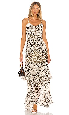 x REVOLVE Rika Maxi Dress HEMANT AND NANDITA $334