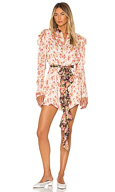 x REVOLVE Bani Mini Dress HEMANT AND NANDITA $219