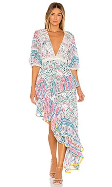 Hana Maxi Dress HEMANT AND NANDITA $500