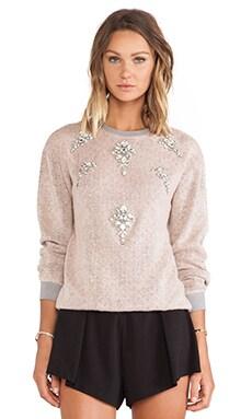Pop Melange Woolen Sweatshirt
