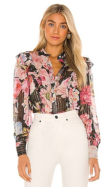 X REVOLVE Killim Blouse HEMANT AND NANDITA $207 NOUVEAU