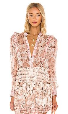 Luana Frilly Shirt HEMANT AND NANDITA $198