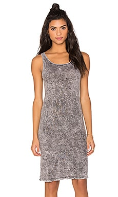 Benjamin Jay Arya Mini Dress in Mineral Grey