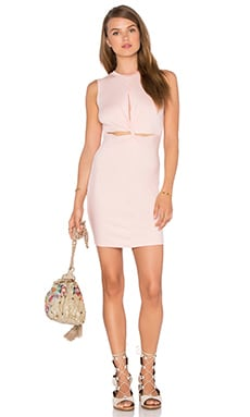 Jourdan Mini Dress in Blush