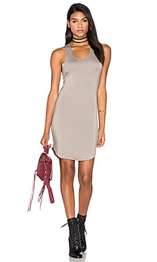 Camille Dress en Taupe