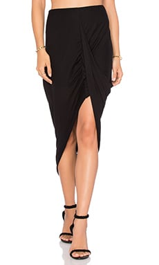 Benjamin Jay M Shred Skirt in Black