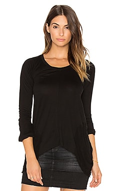 Belle Shred Top in Black