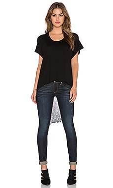 Benjamin Jay B Shred Tee in Black