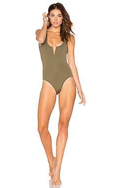 Ines One Piece in Khaki