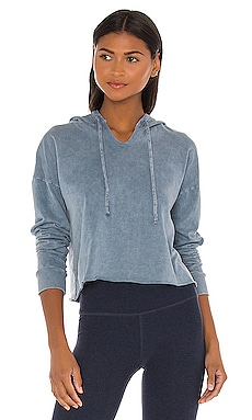 SWEAT À CAPUCHE HEY CHAMBRAY Beyond Yoga $110