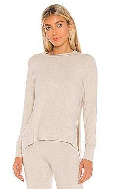 Just Chillin LS Pullover Beyond Yoga $79