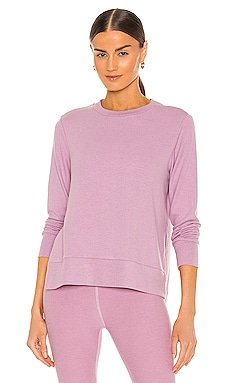 Just Chillin Long Sleeve Pullover Beyond Yoga $61