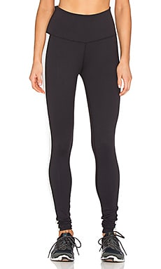 Beyond Yoga Tuxdo High Waist Long Legging in Black & Cream