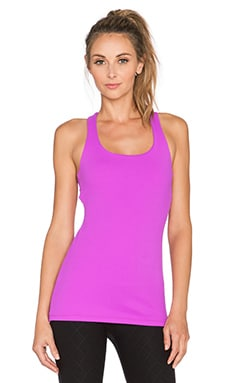 Beyond Yoga Cut Out Cami in Purple Orchid