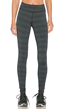 Beyond Yoga Stripe Essential Long Legging in Black