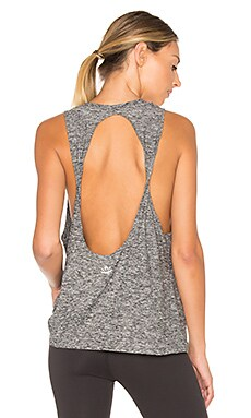 Featherweight Spacedye Twisted Open Back Tank