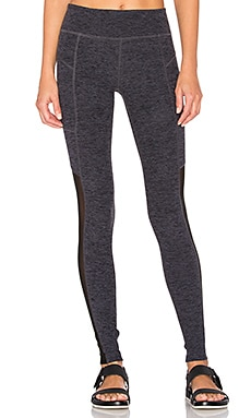 LEGGINGS POCHE & MESH SPACEDYE