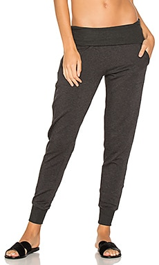 PANTALON SWEAT MOLLETON AVEC REVERS COZY
